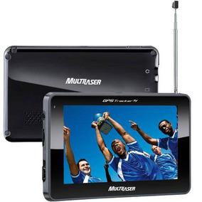 Gps Automotivo Multilaser Tela 4.3 Tv Digital + Fm Gp034