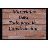 Materiales Para La Construccion G&g
