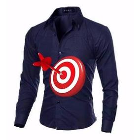 04f0f9e6688c6 Camisas Slim Fit Imperium, Lançamento Exclusivo, No Brasil - Camisa ...