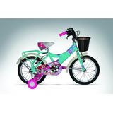 Bicicleta Rin 16 Playera Para Niña