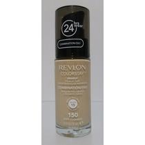 Base Revlon Colorstay 24h Pele Oleosa Com Pump Cor 150