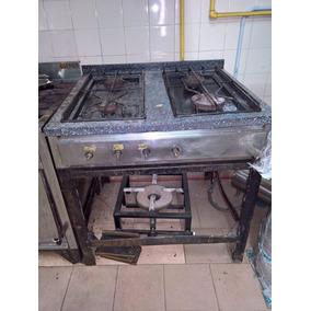 Anafe Tamaño Industrial - 4 Hornallas