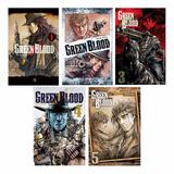 Coleção Green Blood Com 5 Volumes (novos)