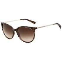 Armani Exchange Ax 4048 S - Óculos De Sol 8037/13 Marrom
