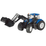 Juguetes Bruder New Holland T8040 With Frontloader
