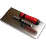 Llana Metalica Lisa Acero 12x25cm 12x30cm Revoque Facil