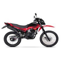 Motocicleta Doble Propósito Kurazai Spartha 2 Roja 200cc