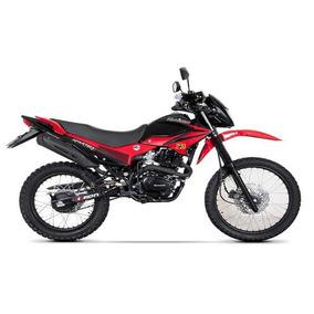 Motocicleta Doble Propósito Kurazai Spartha 2 Roja 200 Cc