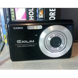 Câmera Digital Casio Exilim Ex-z75 7.2 Mp Fotográfica S/ Bat