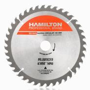 Disco Sierra Circular 40 Dientes 180mm 71/4 Hamilton Ss1840