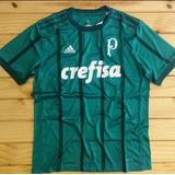 Camisa Palmeiras I 17/18 S/nº Torcedor adidas Masculina