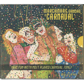 Cd-box Marchinhas, Sambas E Carnaval ( 4 Cds)