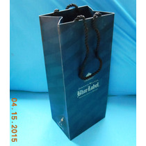 Bolsas De Asa P/botella Johnnie Walker Blue Label 03 Piezas