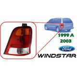 99-03 Ford Windstar Calavera Trasera Sin Arnes Izquierdo