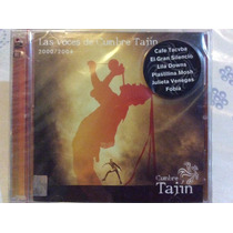 Cd Las Voces De La Cumbre Del Tajín 2000/2004