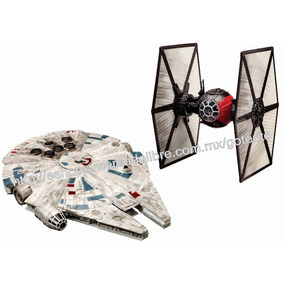 Revell Star Wars Halcon Milenario Y Tie Fighter Luz Sonidos