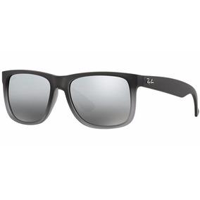 Oculos Rayban Justin Wayfarer Original Polarizado
