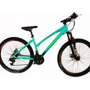 Bicicleta Mtb Fire Bird Lady Tour-rodado 27.5 Disco Mecanico