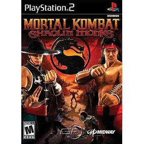 Mortal Kombat: Shaolin Monks - Ps2 Patch + Encarte