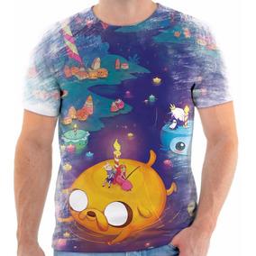 Camiseta Camisa Personalizada Hora De Aventura Finn E Jake 8