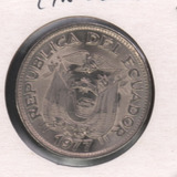 Ecuado 1977 Moneda 50 Centavos Sin Circular A.l.