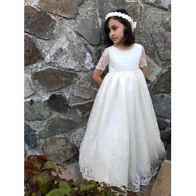 Vestido De Primera Comunión María Guajardo