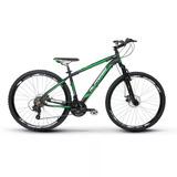 Bicicleta Aro 26 Alfameq Zahav Freio À Disco 21v Shimano