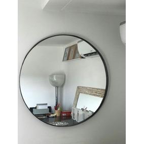 Espejo redondo hierro espejos en mercado libre argentina for Espejo redondo negro