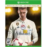 Fifa 18 Edicion Ronaldo Xbox One Videojuego