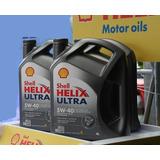 Aceite Helix Shell Sintetico Ultra 5w40 X 4 Litros
