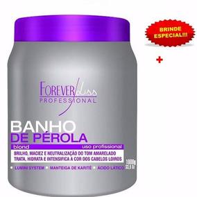 Forever Liss Banho De Perola 1kg + Brinde G3cosmeticos