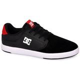 Tênis Dc Shoes Plaza Tcs Preto/cinza/vermelho