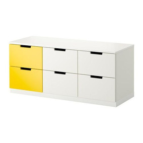 Cajonera & Cómoda & Cambiador Alto Ikea 40x35x90 Amarillo