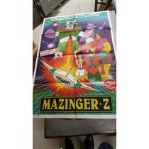 Antiguo Afiche De Cine Original Mazzinger