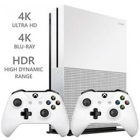 Xbox One S 500gb C/ 2 Controles + Nota Fiscal - Novo