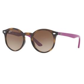 570d9f71d Óculos De Sol Ray-ban Junior Rj9064s 7041/13 44x19 Infantil