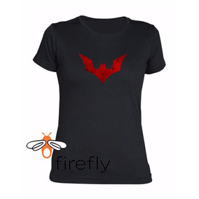 Remera Batman Comic Mujer Negro Coleccion 2 Firefly