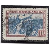 Estampilla De 10 Pesos De La Revolución De 1930