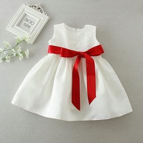 Vestido De Beba Para Bautismo Cumpleños Etc.