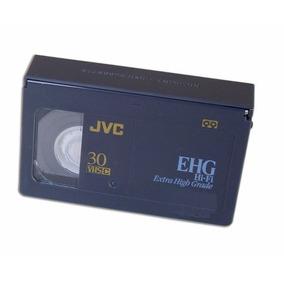 Mini Fita Vhs Jvc Para Filmadora Ehg Hi-fi 30m Sp
