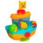 Juego Para El Baño Bebes Barco Pirata Con Actividades Envios