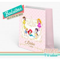 Princesas Disney Bebé - Bolsita Para Imprimir