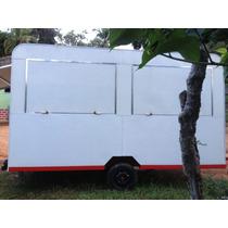 Trailers Food Truck Para Lanches,cachorro Quente,churros,etc