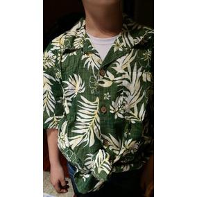 Camisa Hawaiana Niño Pascuense Guayabera