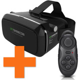 Lentes Realidad Virtual Shinecon Vr Hq + Control Remoto Bt ®