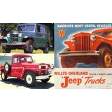 Brazos De Direccion Jeep Willys Camioneta Ranchera Wagon