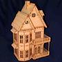 Casinha Casa De Boneca Em Mdf - Polly - Grátis 31 Móveis