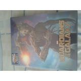 Guardiões Da Galaxia Blu-ray Steelbook Lenticular Raro