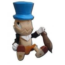 Pepe Grillo Pinocho De Madera Tallado A Mano