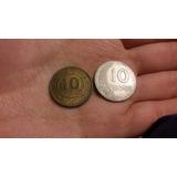 Yh Antiguas Monedas 10 Centavos 1987 Peru - Cambio Remato